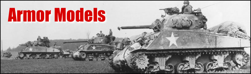Armor Tanks Trucks Artillery and More Model Kits